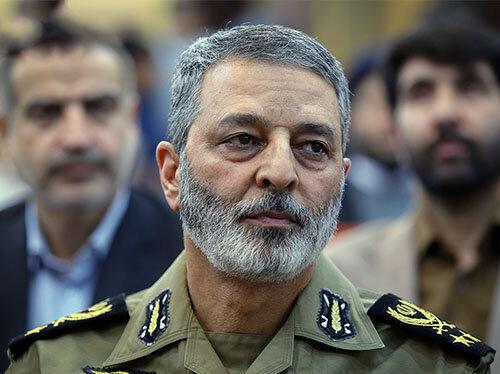 فرمانده کل ارتش انتصاب سرتیپ نصیرزاده را تبریک گفت