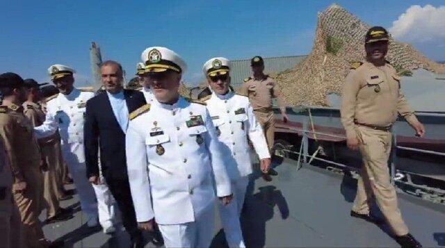 شناور پوتین در اختیار مقام بلندپایه ارتش ایران