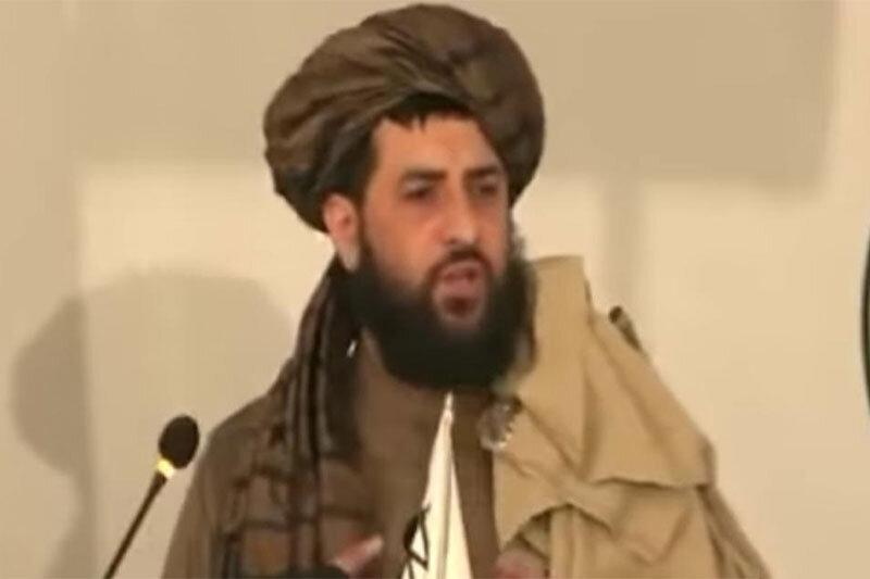 ببینید | فرزند بنیانگذار طالبان برای اولین بار در محافل عمومی حضور یافت