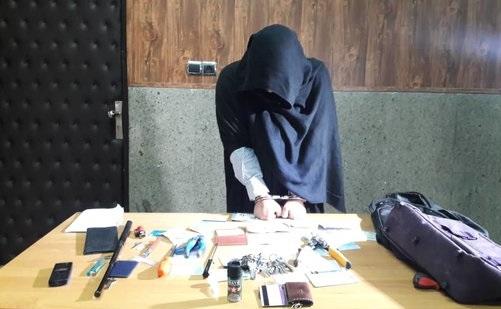 دستگیری نظافتچی سارق با مدرک فوقلیسانس