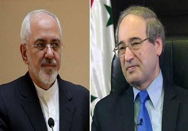 دیدار وزیران امور خارجه ایران و سوریه در تهران