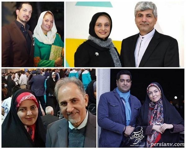 هنرمندان ایرانی که با سیاسیون وصلت کردند